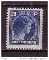 PGL - LUXEMBOURG Yv N°355 ** - 1926-39 Charlotte Right-hand Side