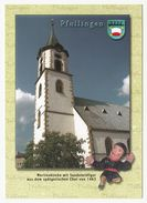 Pfullingen - Martinskirche (St. Martin Kirche) - Lkr. Reutlingen - Ungelaufen - Reutlingen