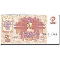 Latvia, 2 Rubli, 1992, 1992, KM:36, NEUF - Lettonie