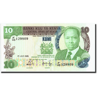Kenya, 10 Shillings, 1988, KM:20g, 1988-07-01, SUP - Kenia