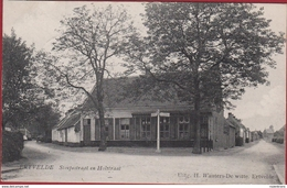 Ertvelde 1908 Stoepestraat En Holstraat Evergem Oost-Vlaanderen (in Zeer Goede Staat) - Evergem