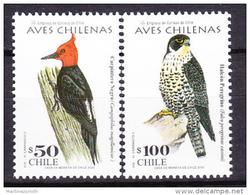 Chile - Chili 2000 Yvert 1529- 30, Definitive, Birds- MNH