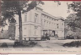 Watermaal-Bosvoorde - Watermael-Boitsfort Chateau Bischoffsheim RARE ZELDZAAM Brussel Bruxelles CPA (In Zeer Goede Staat - Watermael-Boitsfort - Watermaal-Bosvoorde