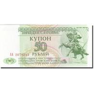 Transnistrie, 50 Rublei, 1993-1994, 1993, KM:19, SPL - Billets