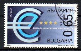 BULGARIE. N°3924 Oblitéré De 2001. Euro. - Münzen