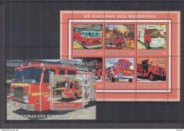 G41. Guinea-Bissau - MNH - Transport - Trucks - 2001