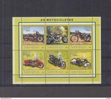 I41. Guinea-Bissau - MNH - Transport - Motorbikes - 2001 - Motorbikes