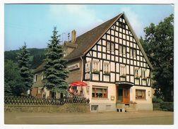 """Lennestadt-Kirchveischede - Hotel-Restaurant """"Haus Jägerhof"""" - Lkr. Olpe - Ungelaufen - Olpe"""