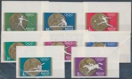 ** 1969 Olimpiai érmesek Vágott ívsarki Sor - Zonder Classificatie