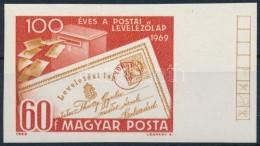 ** 1969 Évfordulók - Események (VII.) 100 éves A Postai LevelezÅ'lap Vágott... - Zonder Classificatie