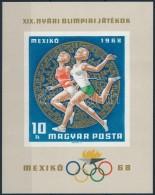 ** 1968 Olimpia (III.) Vágott Blokk (4.000) - Zonder Classificatie