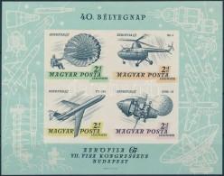 ** 1967 Bélyegnap (40.) Vágott Blokk (5.000) - Zonder Classificatie