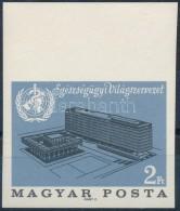 ** 1966 Az Egészségügyi Világszervezet Genfi Székháza Vágott... - Zonder Classificatie