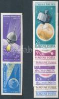 ** 1965-1966 Az űrkutatás Eredményei és Luna Vágott Sorok (5.500) - Zonder Classificatie