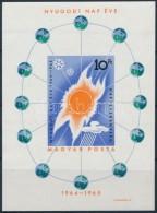 ** 1965 Nyugodt Nap Éve Vágott Blokk (5.000) (benyomódás) - Zonder Classificatie