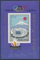 ** 1964 Olimpia (II.) - Tokió Vágott Blokk (4.000) - Zonder Classificatie