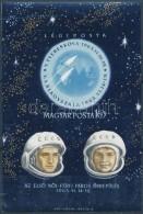 ** 1963 Az ElsÅ' NÅ'i-férfi Páros űrrepülés Vágott Blokk (4.500) - Zonder Classificatie