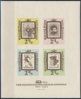 ** 1962 Bélyegnap (35.) Vágott Blokk (8.000) - Zonder Classificatie