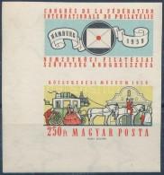 ** 1959 FIP Vágott ívsarki Bélyeg (3.500) - Zonder Classificatie