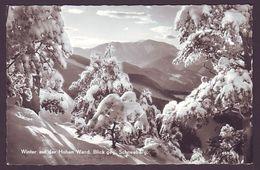 Winter Auf Der Hohen Wand - Blick Gegen Schneeberg - Ungelaufen - Autriche