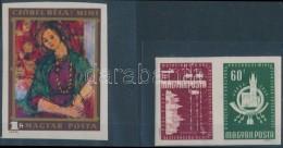 ** 1958 A Szocialista Országok Postaügyi Minisztereinek Értekezlete (I.) Vágott... - Zonder Classificatie