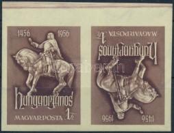 ** 1956 Hunyadi János Vágott Fordított állású Pár (25.000) - Zonder Classificatie