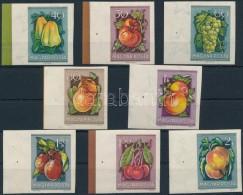 ** 1954 Gyümölcsök (I.) Vágott ívszéli Sor (12.000) - Zonder Classificatie