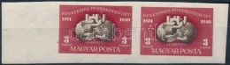 ** 1950 UPU Blokkból Kivágott ívszéli Pár (24.000++) - Zonder Classificatie