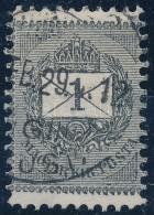 O 1889 1kr Keskenyre Fogazva - Zonder Classificatie