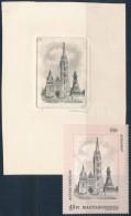 ** 1993 Budapest Nevezetességei, Mátyás-templom Füle Mihály Bélyegterve,... - Zonder Classificatie