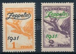 ** 1931 Zeppelin Felülnyomott Sor (24.000) - Zonder Classificatie