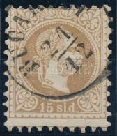 O Magyar Posta Romániában 1867 15sld 'BUCA(RES)T' - Zonder Classificatie