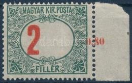 ** 1915 Pirosszámú Zöldportó 2f Balra Tolódott értékszámmal,... - Zonder Classificatie