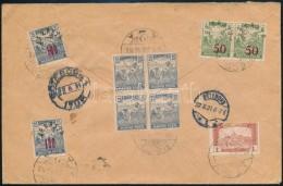1921 Baranya Bélyegek Ajánlott Levélen Svédországba, Bodor... - Zonder Classificatie