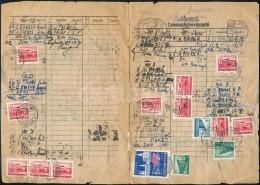 1959 CsomagfelvevÅ' Napló 39 Bélyeges Bérmentesítéssel. Gyűrött,... - Zonder Classificatie
