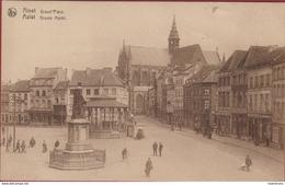 Aalst Alost Grand Place Groote Markt Geanimeerd Grote Oude Postkaart Nels - Aalst
