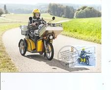 Poste -Postier à Moto ( CM De Suisse De 2013 à Voir) - Post