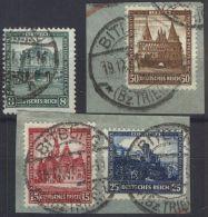 DEUTSCHES REICH 1931 MI-NR. 459/62 O Used