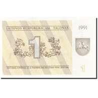 Lithuania, 1 (Talonas), 1991, 1991, KM:32b, SPL - Lituanie