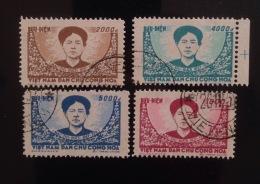 North Vietnam Vietnam CTO Stamps 1956 : Mac Thi Buoi - Army's Heroine (Ms019) / Real Stamps - Vietnam