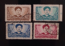 North Vietnam Vietnam CTO Stamps 1956 : Mac Thi Buoi - Army's Heroine (Ms019) / Real Stamps