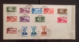 South Vietnam Vietnam Sheet 1953 With Stamps Scott#1-13 - High Value