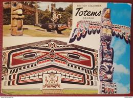 BRITISH COLUMBIA TOTEMS - CANADA - INDIANS - Indiani Dell'America Del Nord