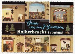 """Halberbracht (Lennestadt) - Gaststätte """"Zu Den Sieben Zwergen"""" - Lkr. Olpe - Ungelaufen - Olpe"""