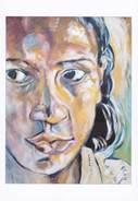 Portrait De Mounira, Jeune Femme Tunisienne. - Girot
