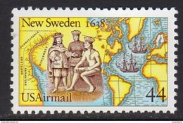 USA 1988 350th Anniversary Of Founding Of New Sweden, MNH (SG A2345) - Vereinigte Staaten