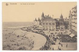 Oostende / Ostende - De Zeedijk En De Kursaal - Ungelaufen