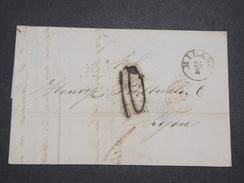 ITALIE - Lettre De Milan Pour La France En 1857 - L 7941 - Sonstige