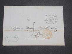ITALIE - Lettre De Lucca Pour La France En 1853 - L 7942 - Sonstige