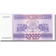 Géorgie, 20,000 (Laris), 1993, 1994, KM:46b, NEUF - Géorgie